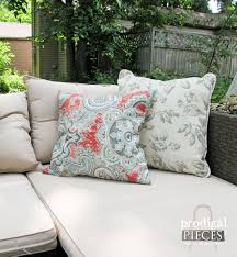 diy outdoor pillows on a budget prodigal pieces