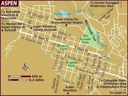 aspen map map of aspen