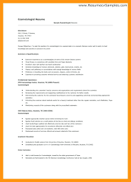 cosmetology resume template cosmetology resume templates cosmetology resume sle cosmetologist