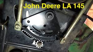 steering sector u0026 pinion gear replacement john deere la145