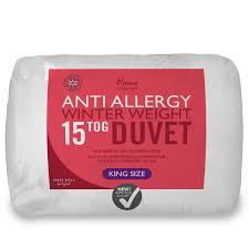 Winter Duvet King Size Anti Allergy 15 Tog King Size Duvet Winter Bedding B U0026m