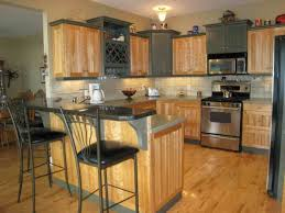 kitchen with maple cabinets decorating and incredible paint colors