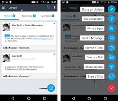 microblogging on android devices u2013 mangoapps help
