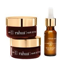 rahua hair detox and renewal treatment kit hair and scalp treatment