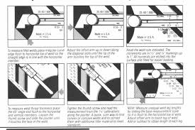 how to read welding inspection gauges wg series gages