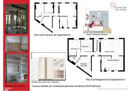 plans d appartement avant et apres plans appartement pinterest plans d appartement avant et apres
