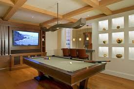 Pool Table Ceiling Lights San Francisco Cool Pool Tables Family Room Eclectic With Billiards