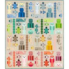 robert kaufman fabrics elizabeth hartman reef awesome quilt