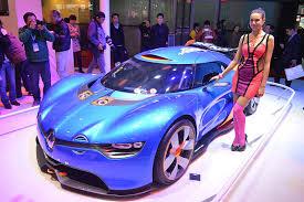 renault alpine a110 50 alpine a110 50 concept на автомобильной выставке в шанхае