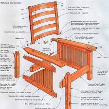 Craftsman Furniture Plans Craftsman Style Comfort In A Morris Chair Finewoodworking