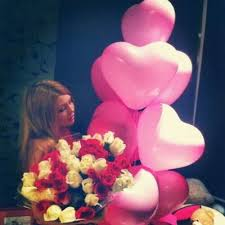bae flowers and balloon at balloons roses gifts for give me flowers