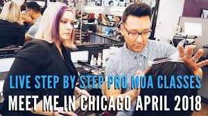 chicago makeup classes learn how to become a working professional makeup artist in my