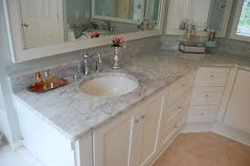 bathroom tile countertop ideas bahtroom fresh flower decor beside sink tiny crane on