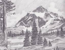mountain landscape by artbybryanna on deviantart