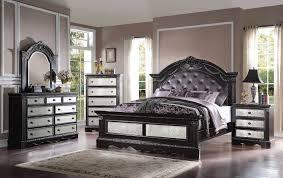 Mirrored Bedroom Furniture Set Mirrored Bedroom Set Simple Home Design Ideas Academiaeb Com
