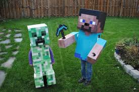 Minecraft Costume Halloween Maker Halloween Costumes