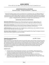 mechanical design engineer cover letter mechanical design