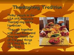 thanksgiving day presentation