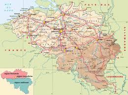 belguim map belgium map