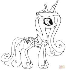 pony princess coloring pages qlyview