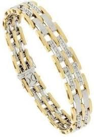 gold bracelet diamonds images Mens gold bracelets with diamonds google search men 39 s jpg