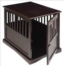 newport pet crate end table newport pet crate end table small dog kennel espresso ebay