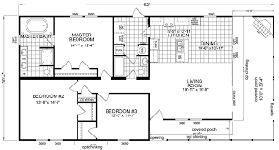 3 Bedroom 2 Bath House Plans Double Wide Mobile Home Floor Plans Bedroom Double Wide Mobile