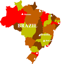 map of brazil brazil free stock photo illustrated map of brazil 17549
