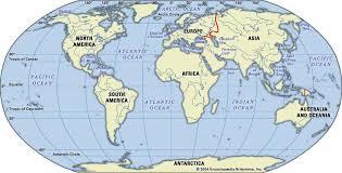 world map oceans seas bays lakes indian britannica