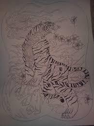 tiger back by tonywave33 on deviantart