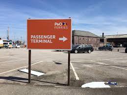 Hull Ferry Port Car Parking Wdc Creative U2014 P U0026o Ferries Rebranded At The Port Of Hull