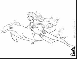 beautiful mermaid coloring pages ariel kids barbie