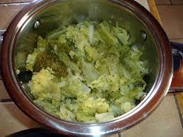 cuisiner le chou frisé recette de chou frisé l étuvé au beurre