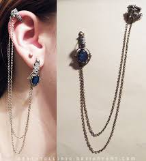 bajoran earring custom bajoran earring by undead medic on deviantart