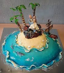 beach funny wedding cake