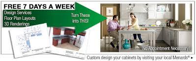 Menards Kitchen Design by Kitchen Cabinets Buying Guide At Menards