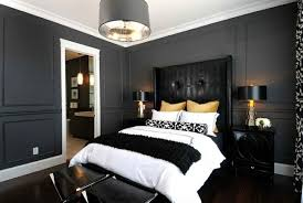 Bold Bedroom Color Ideas With Black And White Accents Interior - Color ideas for a bedroom