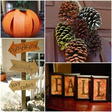 fall decorations you can make on a budget