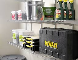 Garage Wall Shelves by Garage Wire Shelving Shelves Ideas