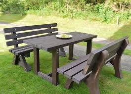 Recycled Plastic Furniture Recycled Plastic Garden Furniture Sets