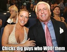 Ric Flair Memes - chicks dig guys who woo them ric flair playboy quickmeme