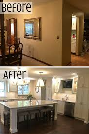 removing kitchen wall cabinets 5 things to consider before removing a wall to enlarge your