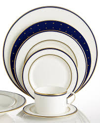 wedding registry dinnerware kate spade new york library navy collection china