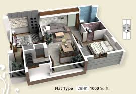2 Bhk Home Design Layout by Sq Ft House Provision Stair Future Ideas And Home Design Plans For