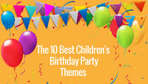 party themes the 10 best preschool birthday party themes early childhood