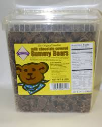 where to buy chocolate covered gummy bears koppers milk chocolate gummy bears 8 lbs