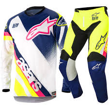 childrens motocross gear alpinestars new mx 2018 racer supermatic navy fluro kids motocross