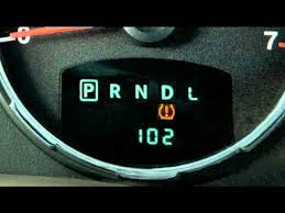 2012 jeep liberty tire pressure monitoring system