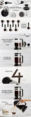 How to Use a French Press Coffee Brewer Step by step instructions