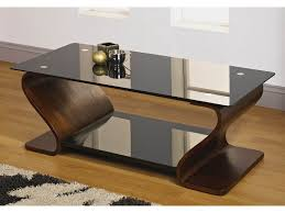 Best Of Contemporary Furniture Brown Glass Coffee Table - Designer coffee tables